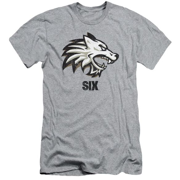 Six Wolf Short Sleeve Adult Athletic T-Shirt