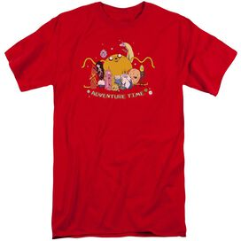 Adventure Time Outstretched Short Sleeve Adult Tall T-Shirt