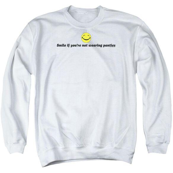 Not Wearing Panties Adult Crewneck Sweatshirt