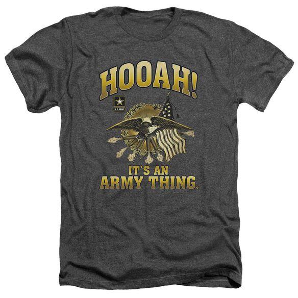 Army Hooah Adult Heather