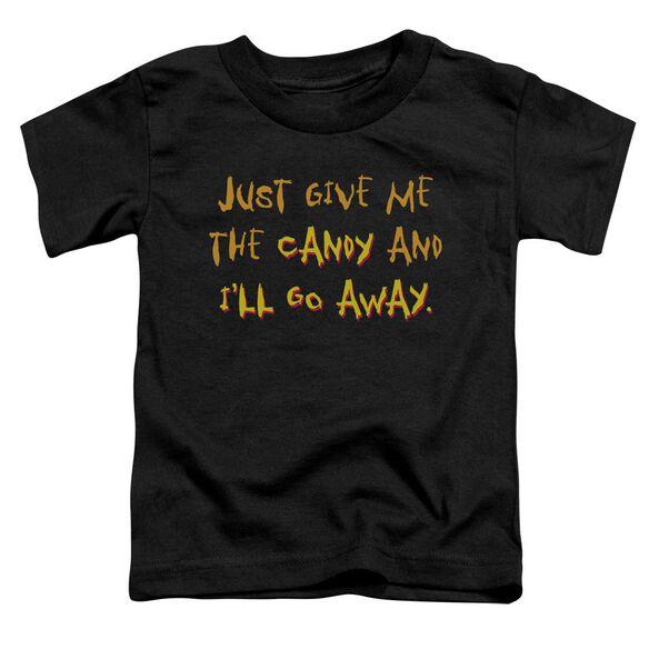 Give Short Sleeve Toddler Tee Black T-Shirt