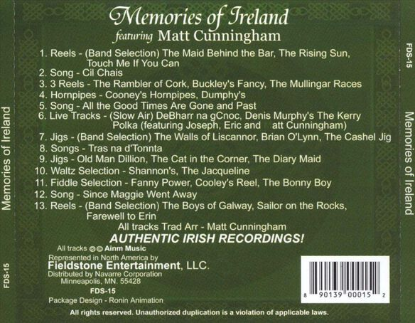 Memories Of Ireland (Aus)
