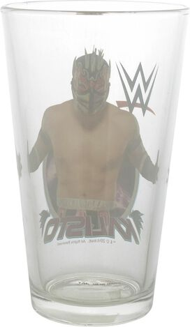 WWE Kalisto Pint Glass