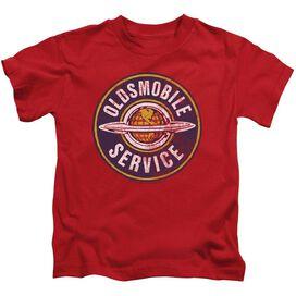 Oldsmobile Vintage Service Short Sleeve Juvenile T-Shirt