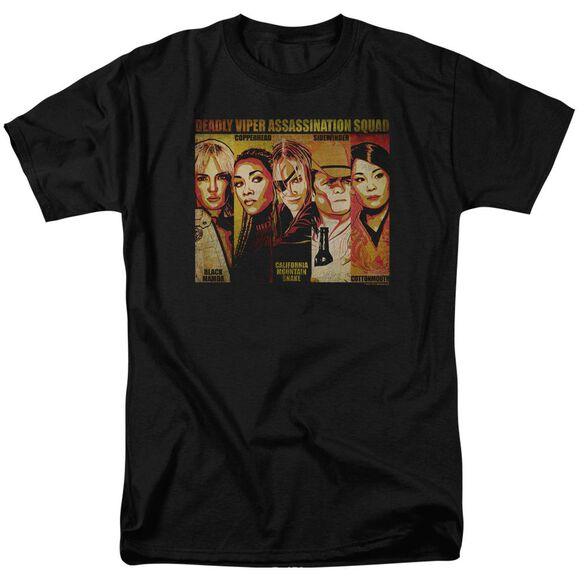 Kill Bill Deadly Viper Assassination Squad Short Sleeve Adult T-Shirt