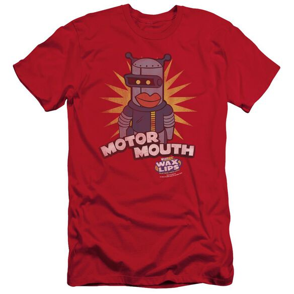 DUBBLE BUBBLE MOTOR MOUTH - S/S ADULT 30/1 - RED T-Shirt