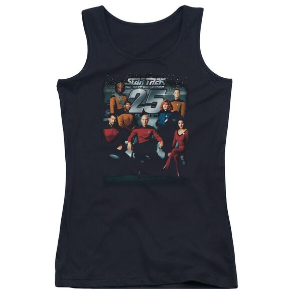 Star Trek 25 Th Anniversary Crew Juniors Tank Top