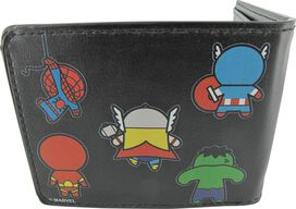 Avengers Kawaii Front and Back Wallet