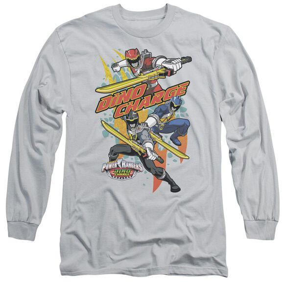 Power Rangers Swords Out Long Sleeve Adult T-Shirt