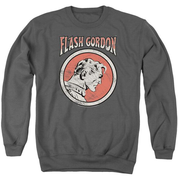 Flash Gordon Flash Circle Adult Crewneck Sweatshirt