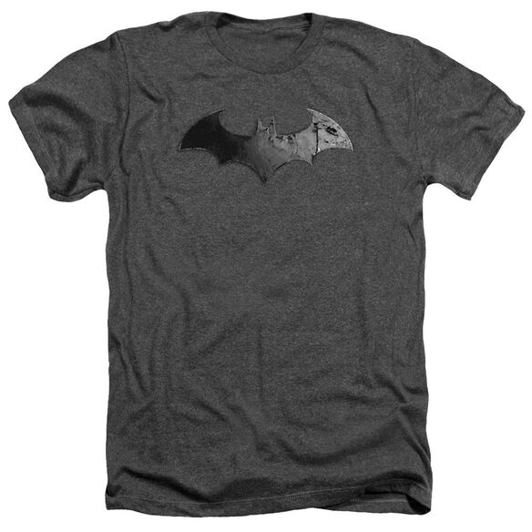 Arkham City Bat Logo Adult Heather