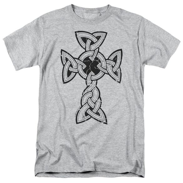 Knotted Celtic Cross Short Sleeve Adult Athletic T-Shirt