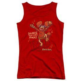 Fraggle Rock Dance Juniors Tank Top