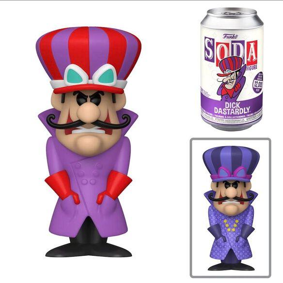 Soda Collector Can-Wacky Races-DICK ignoble-P//o octobre Funko Pop!