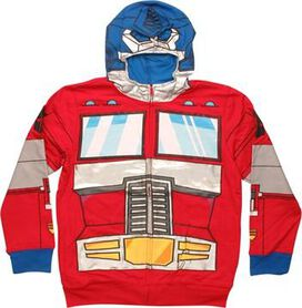 Transformers Optimus Foil Face Youth Hoodie