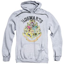 Harry Potter Hogwarts Crest Adult Pull Over Hoodie Athletic