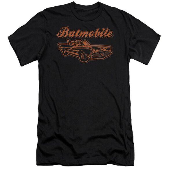 Batman Batmobile Short Sleeve Adult T-Shirt