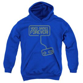 Video Games Forever Youth Pull Over Hoodie