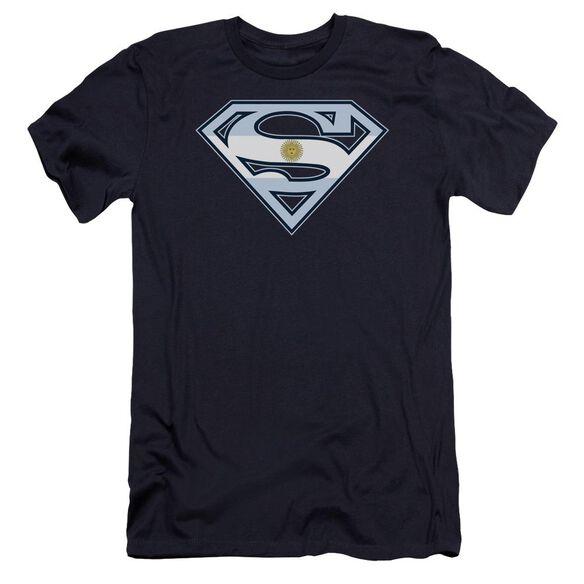 Superman Argentinian Shield Premuim Canvas Adult Slim Fit