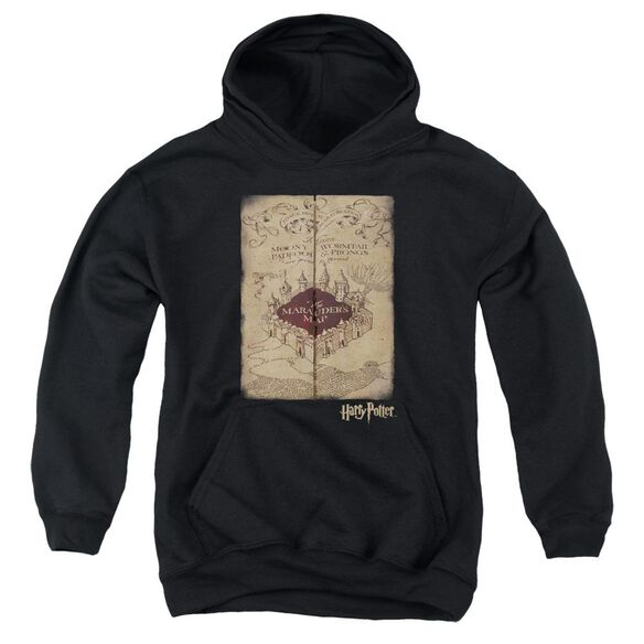 Harry Potter Marauders Map Youth Pull Over Hoodie