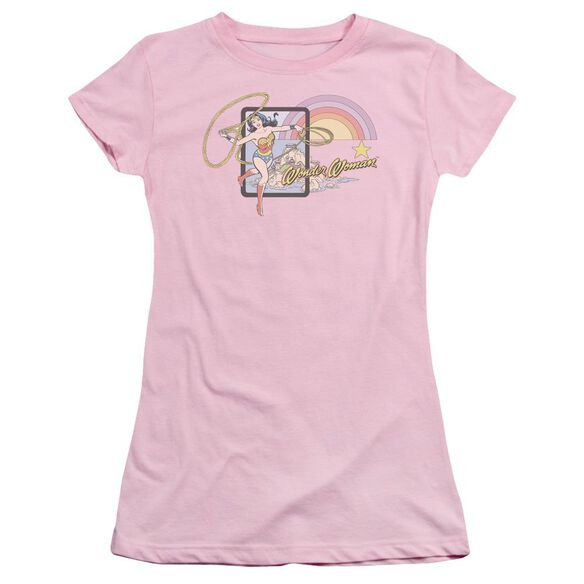 Dc Island Princess Short Sleeve Junior Sheer T-Shirt