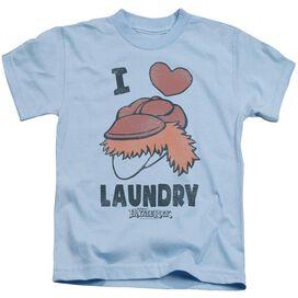 Fraggle Rock Laundry Lover Short Sleeve Juvenile Light T-Shirt