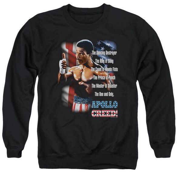 Rocky Ii The One And Only Adult Crewneck Sweatshirt