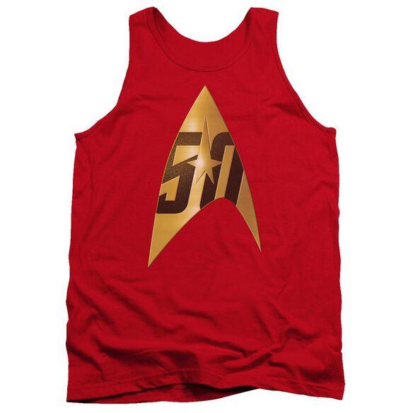 Star Trek 50 Th Anniversary Delta Adult Tank