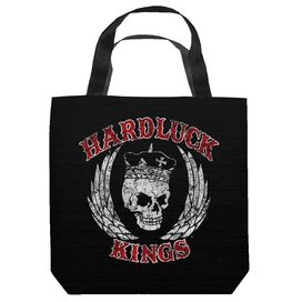 Hardluck Kings Red Letter Distressed Tote