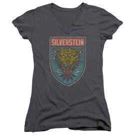 Silverstein Tiger Junior V Neck T-Shirt