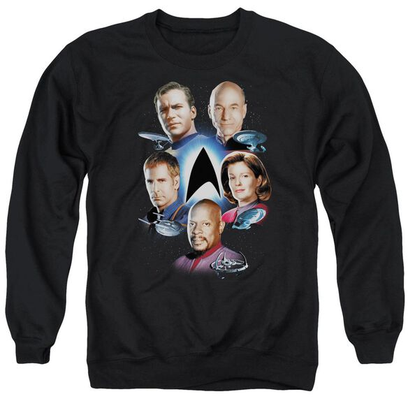 Star Trek Starfleet'S Finest Adult Crewneck Sweatshirt