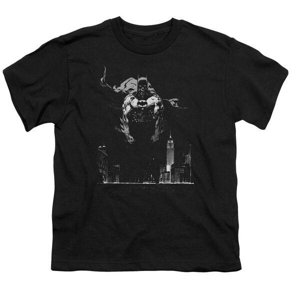 Batman Dirty City Short Sleeve Youth T-Shirt