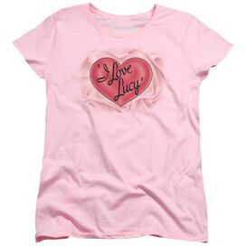 I Love Lucy Classic Logo Short Sleeve Womens Tee T-Shirt