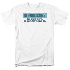 Repubilcans Short Sleeve Adult T-Shirt