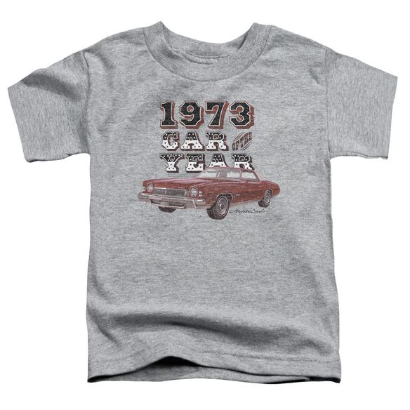 Chevrolet Car Of The Year Short Sleeve Toddler Tee Athletic Heather T-Shirt