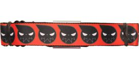Soul Eater Logo Wrap Orange Seatbelt Belt