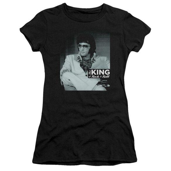Elvis Good To Be Hbo Short Sleeve Junior Sheer T-Shirt