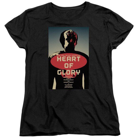 Star Trek Tng Season 1 Episode 20 Short Sleeve Womens Tee T-Shirt