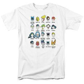 Dc Superhero Issues Short Sleeve Adult T-Shirt