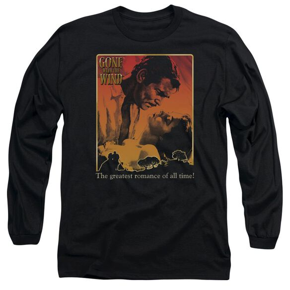 Gone With The Wind Greatest Romance Long Sleeve Adult T-Shirt