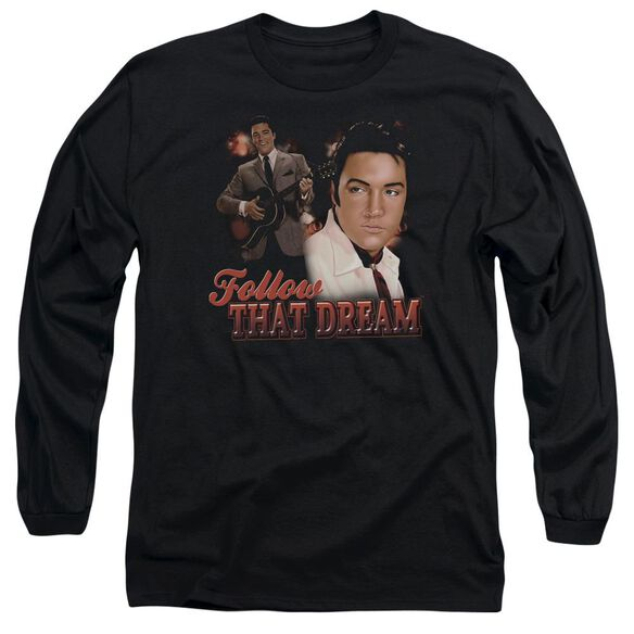 Elvis Presley Follow That Dream Long Sleeve Adult T-Shirt