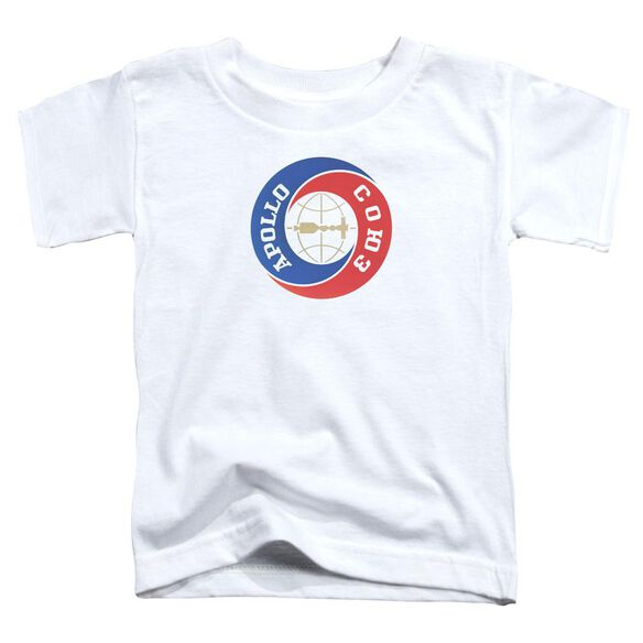 Nasa Apollo Soyuz Short Sleeve Toddler Tee White T-Shirt
