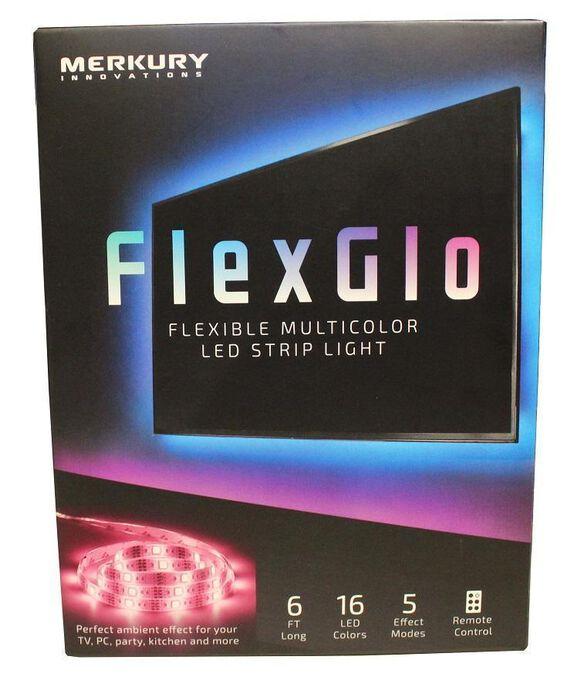 FlexGlo Flexible Multicolor LED Light Strip