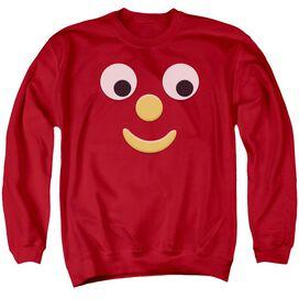 Gumby Blockhead J Adult Crewneck Sweatshirt