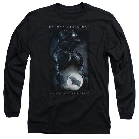 Batman V Superman Signal Long Sleeve Adult T-Shirt