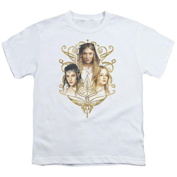 Lor Women Of Middle Earth Short Sleeve Youth T-Shirt