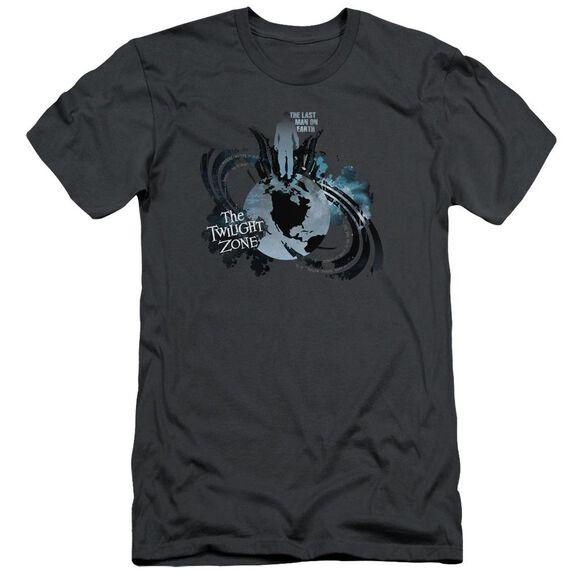 Twilight Zone Last Man On Earth Short Sleeve Adult T-Shirt