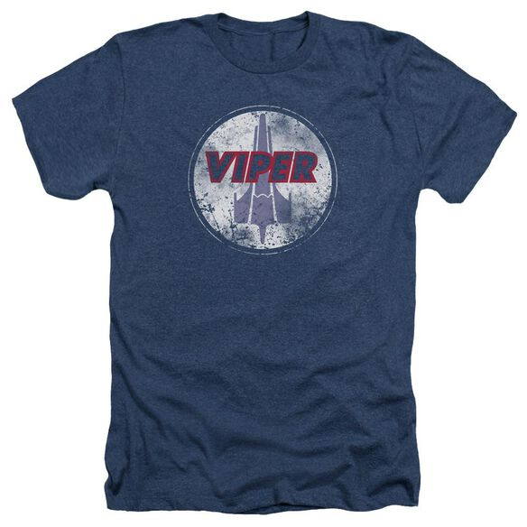 Bsg War Torn Viper Logo Adult Heather