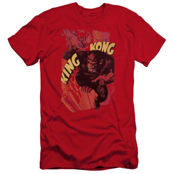 King Kong Plane Grab Premuim Canvas Adult Slim Fit
