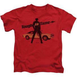 Chevrolet Tough To Tame Short Sleeve Juvenile Red T-Shirt